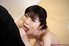 Giving Oral Sex Taking Cock Deep In Her Mouth