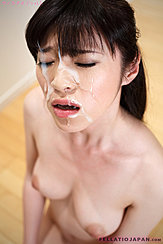 Yurikawa Sara With Cum All Over Her Face Big Breasts