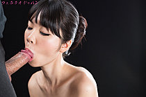 Matsuda Anna Kneeling Nude Sucking Cock And Taking Facial