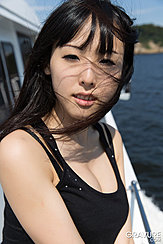 On Boat Wearing Black Top