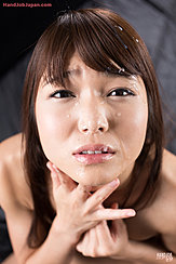 Aoi Shino With Cum On Her Face Cum Over Her Hair