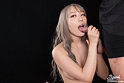 Kneeling Nude Sucking Cock Head