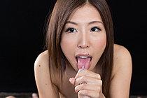 Miura Rin Sucking Cock And Giving Big Cock Handjob
