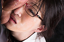 Office Lady Mikami Ayaka Face Fucked In Glasses Taking Facial