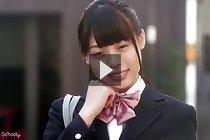 Student Yua Nanami masturbating and fucked in uniform