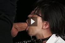 Office Lady Mikami Ayaka Face Fucked With Thick Cock In Glasses